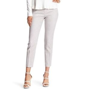 Adrianna Papell Geo Print Kate Fitted Pants